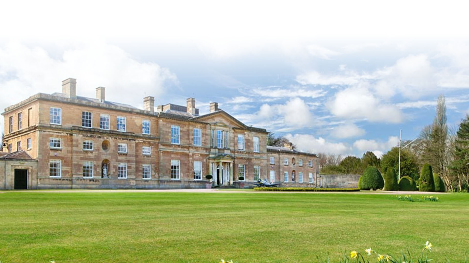 Bowcliffe Hall outside